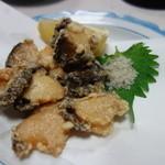 中華料理 揚子江 - 鮑の天ぷら