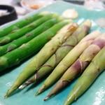 中華料理 揚子江 - アスパラ&筍