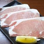 豚ロースの焼しゃぶ(3枚)