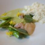 meli melo - 緑と白のマリアージュ
