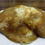 福満亭 - 料理写真:ソース焼きそばでも日田焼きそばでもないオリジナルの焼きそばが頂けます。普通の焼きそばは600円ですが、こちらは玉子焼きそば650円。 甘塩っぱい薄焼き卵がのった焼きそばです。