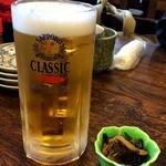 北のグルメ亭 - 朝からですが、とりあえずビール~!