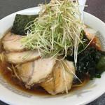 紀の家 - ネギチャーシュー麺。