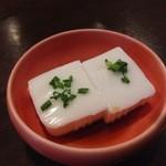 38642543 - ピーナッツ豆腐(400円)
