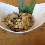 卵's工房 - 鶏モモ肉と木之子のソテー