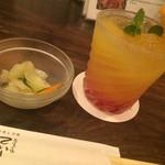 38643383 - つきだしは沖縄のお野菜 モウイ
