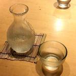 釜あげうどん はつとみ - 日本酒・酔鯨一合(750円)