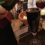 近江牛ステーキとがぶ飲みワイン ニクバルモダンミール - なみなみ♪