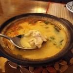 シャム - トムカーガイ(チキンココナッツスープ)700円