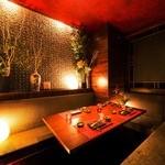 赤坂見附 個室居酒屋 串しゃぶ てまりうた - 赤坂見附徒歩3分!幻想的な個室空間で…2h飲み放題付2480円~