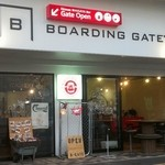 BOARDING GATE - お店の外観