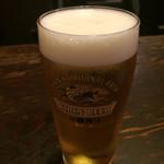 今、龍馬 - 生ビール。