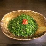 武蔵坊 - 汁なし担担麺  芳醇醤油  昇天 ハーフ〜❤️