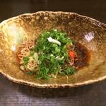 武蔵坊 - 担担麺  芳醇醤油 3辛  ハーフ