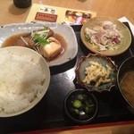 魚然 - 煮魚定食