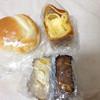 達川ベーカリー - 料理写真:ソフトフランスパン、シャノン、芋デニッシュ2種類