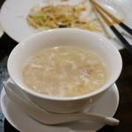 潮州 - 干し貝柱と金華ハムのスープ