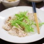 潮州 - 豚シャブシャブの香酢タレ