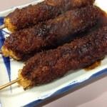 串たつ - 名物『味噌串カツ』