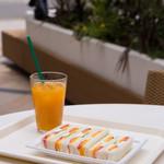 カフェ・ディ・フェスタ - フルーツサンドウィッチ(ショップ販売品をでカフェで注文可)