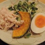 ひろしま酒蔵 歓粋亭 - 広島つけ麺のお野菜