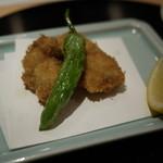 ぎをん 遠藤 - 牡蠣フライ