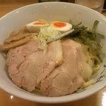 秋葉原ラーメン天神屋 - 味玉油そば(中盛)