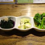 あめこや - 「野菜の盛合せ」 2015年3月