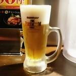 光麺 - 生ビール中300円