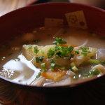 甘味茶屋 水月 - 豚汁