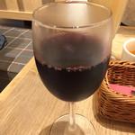 グレイスガーデン - 赤グラス ランチセットに+\100