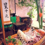 しらさぎ荘 - 鯉活き造り