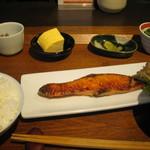 いやいやえん - 6月、鮭の柚庵焼