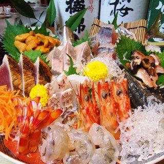 瀬戸内の新鮮魚介を贅沢にお召し上がりください◎