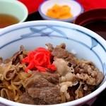 亀山パーキングエリア(上り線)売店 - 松阪肉牛丼1,000円(税込)