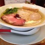 Japanese Soba Noodles 蔦 - 味たま塩そばの丼