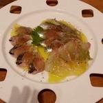 THE WINE BASE - 鮮魚のカルパッチョ