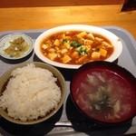 中華居酒屋 三国 - ランチ 麻婆豆腐