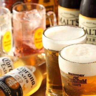 ◆9周年記念◆ビール450円→290円等!ドリンクサービス♪