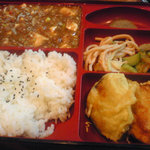 中国料理 西海 - マーボー豆腐定食