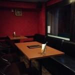 和イン家 - テーブル席