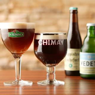 ベルギービールをはじめとした世界のビール約40種!!