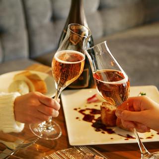種類豊富なワイン・最適なマリアージュ