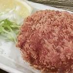 ハマケイ - ジューシィ♪鶏メンチ