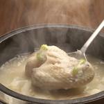 焼肉食彩 味来 - 滋養強壮に効くサムゲタン