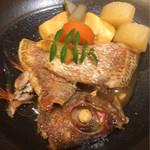 38686085 - ノドグロ(赤ムツ)の煮物(^^)