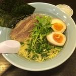 麺工房 武 - 牛塩味玉ラーメン