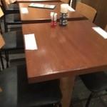 にっぽんの... - 高い椅子のテーブル席