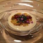 ヴァカンツァ - カリフラワーの冷製スープ