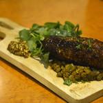 里芭歩樹 - アグー豚肉の特製サルシッチャ